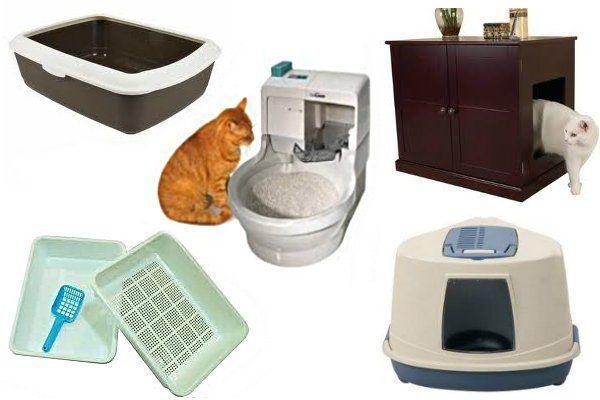 Туалеты для кошки
