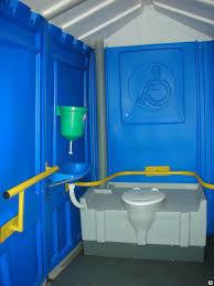 Вариант комплектации кабинки для инвалидов