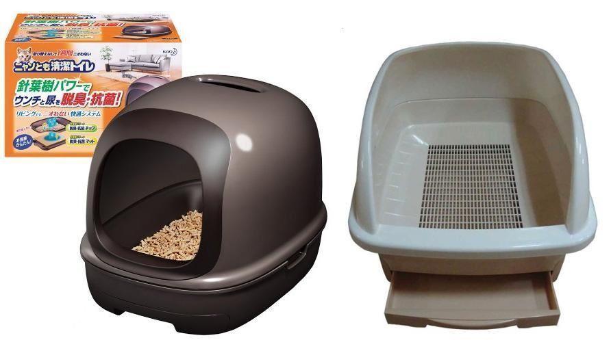 Закрытого и открытого типа биотуалеты для кошек