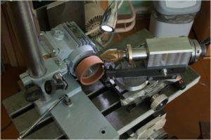 Заточка инструмента с применением наждачного-тарельчатого круга