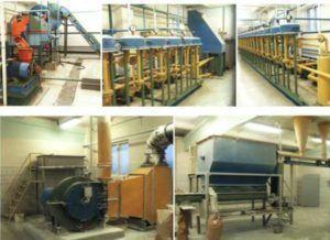 Мини завод можно установить в небольших помещениях