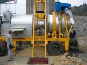 Мобильный мини завод по производству асфальта