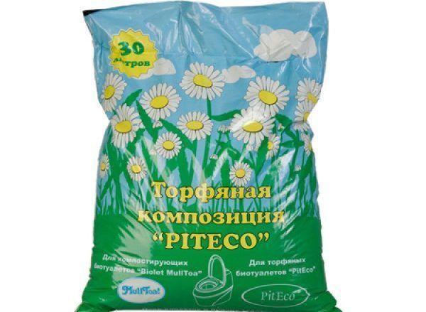 Смесь Piteco для торфяного биотуалета