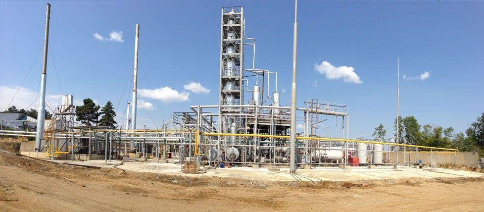 Технологические установки переработки нефти
