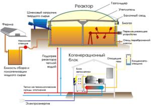 Био установка по производству удобрения