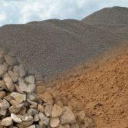 Щебень и песок - важные сыпучие материалы для строительства