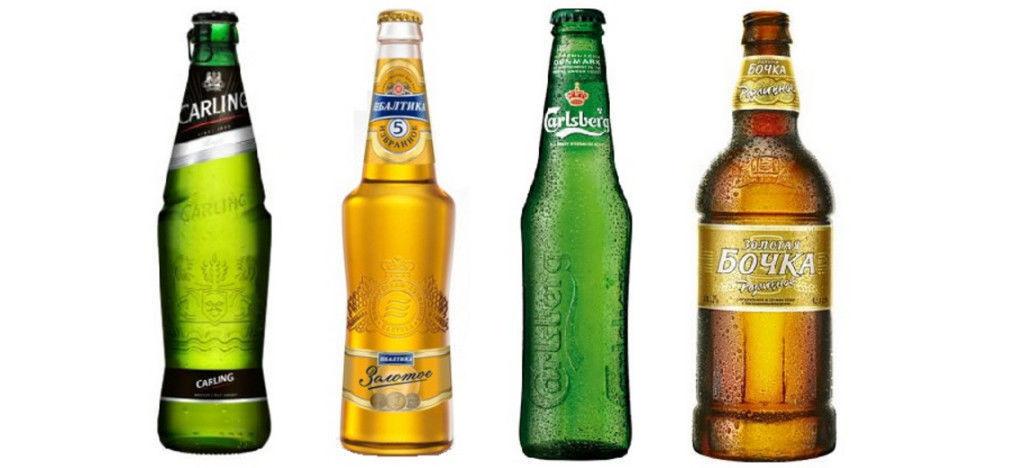виды стеклотары пивные бутылки
