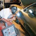 Сварочные работы над авто