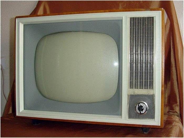 старые телевизоры