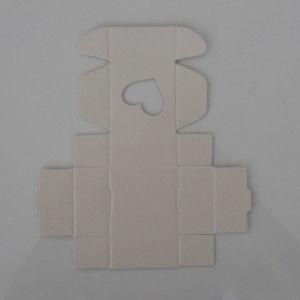 Форма вырезки картона для ящика