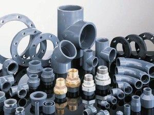 Существует множество размеров ПВХ труб и фитингов
