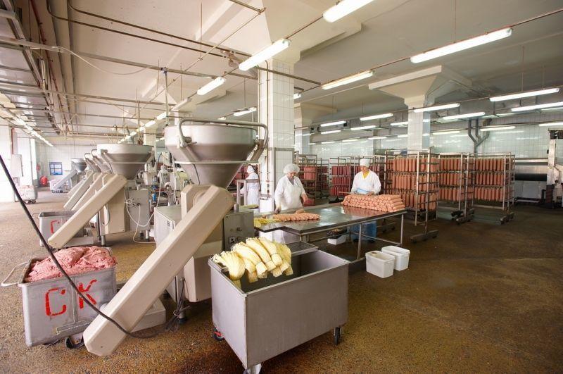 Цех для производства колбас должен отвечать всем санитарным нормам