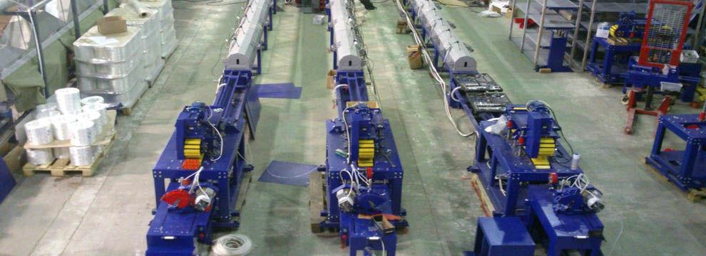 линии производства стеклоарматуры
