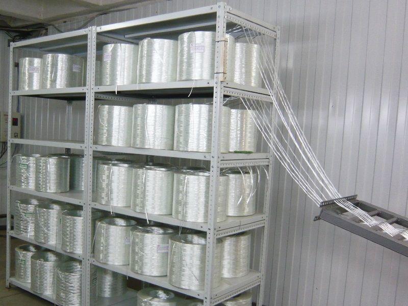 шпулярник компонент линии производства стекло арматуры