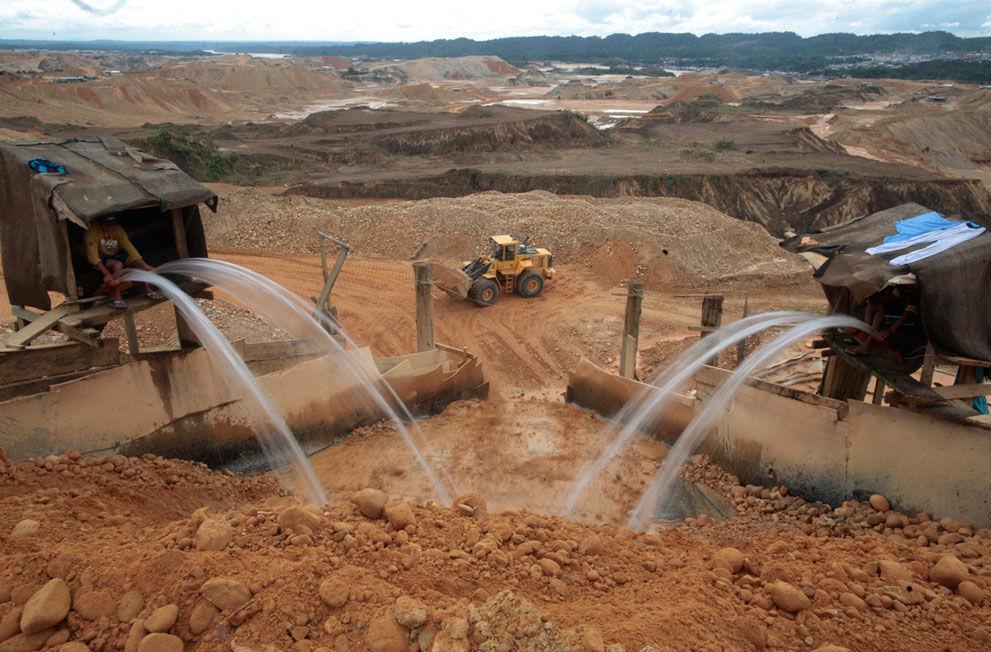 Добыча золота вымываем грунта