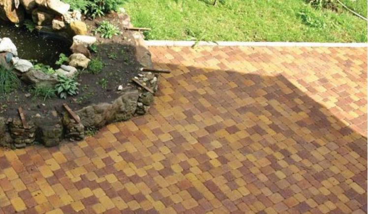 Тротуарная плитка Листопад