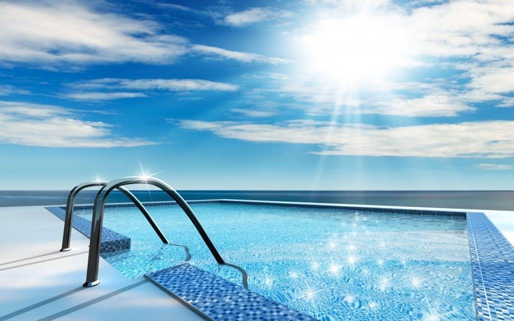В основном на засорение бассейне влияют природные факторы ветер, дождь и животные