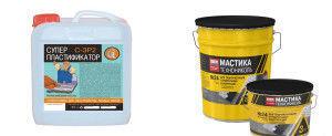 Пластификаторы и гидроизоляторы