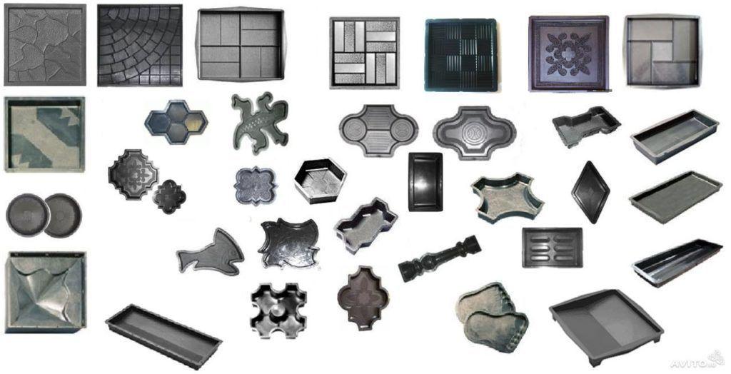 Преимущество - можно эксперементировать с любыми формами и размерами плитки