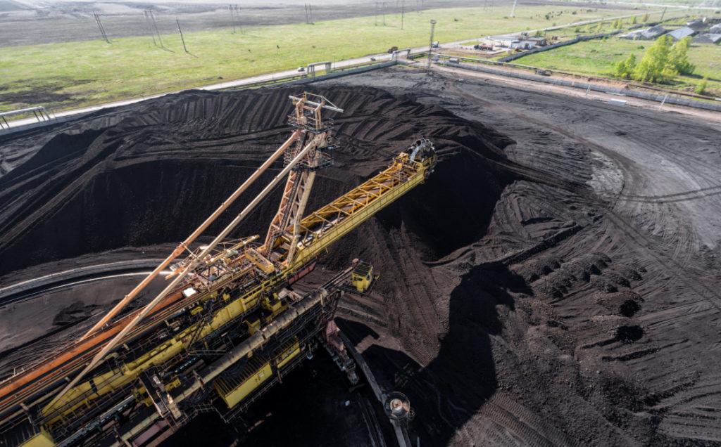 Угольное хранилище на Березовское-2