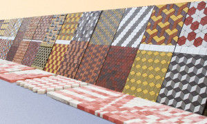 Широкий ассортимент тротуарной плитки – это наличие десятков форм, размеров и цветов готовых вариантов