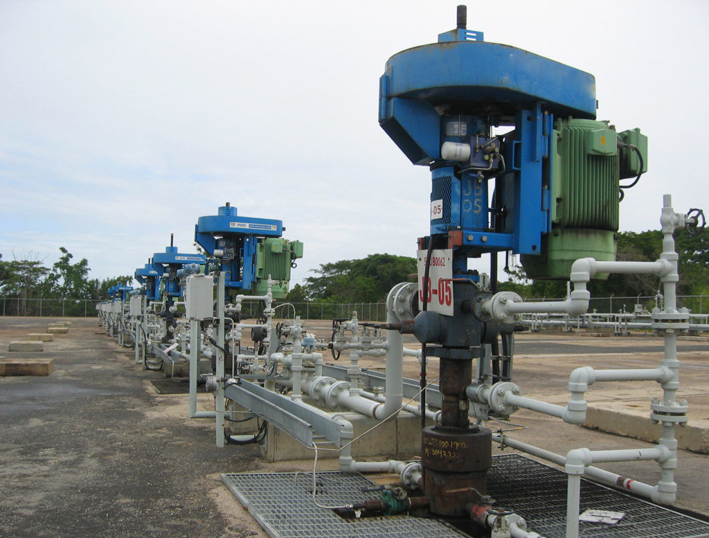 системы винтовых насосов PCM Moineau  для добычи тяжелой нефти