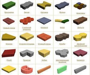 На рынке сегодня представлено большое разнообразие форм и цветов.