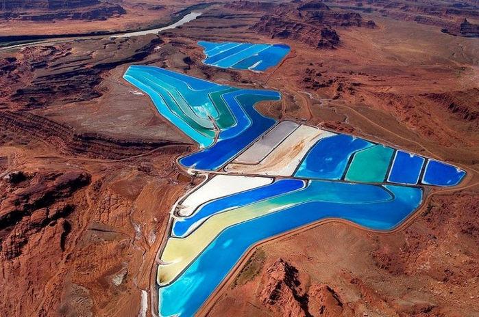 Искусственные соляные бассейны