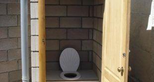 Простейшая конструкция туалета для дачи