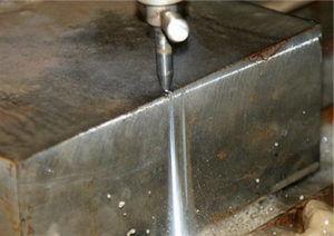 Резка водой металла более 20 см