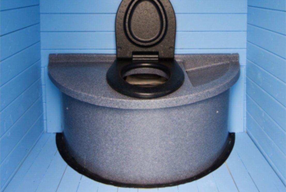 Торфяной дачный туалет