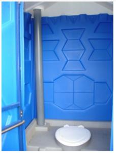 Туалетная кабина Стандарт в середине