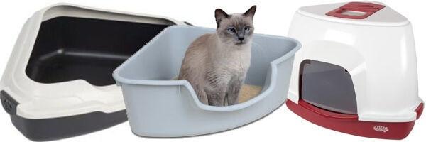 Угловой туалет для кошек