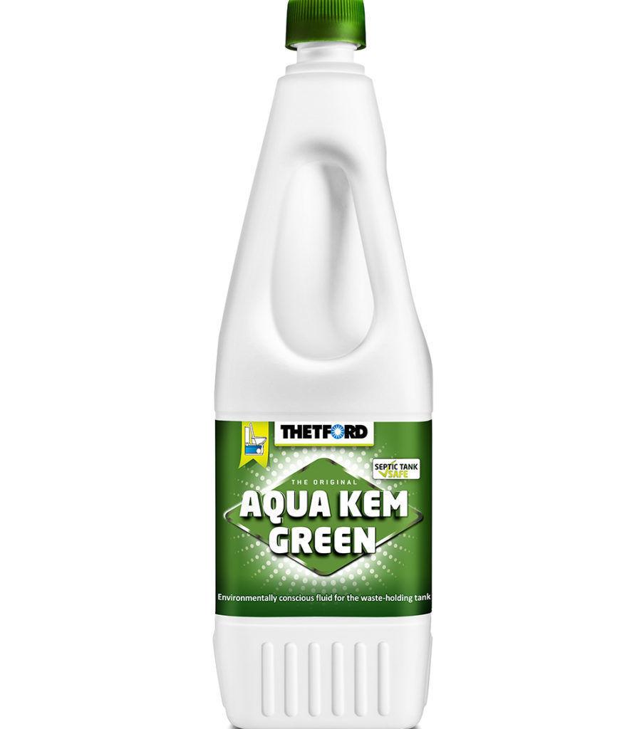 Жидкость для биотуалетов Aqua Kem Green