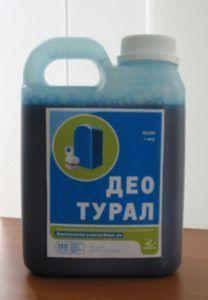 Жидкость для очистки канализации