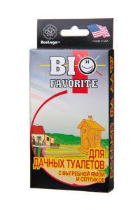 Bio Favorite средство для дачных туалетов