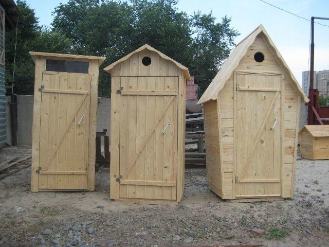 Варианты туалетной кабины для дачи