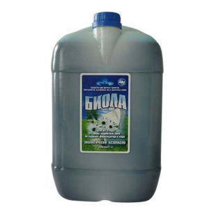 Жидкость для биотуалетов «Биола» 10л