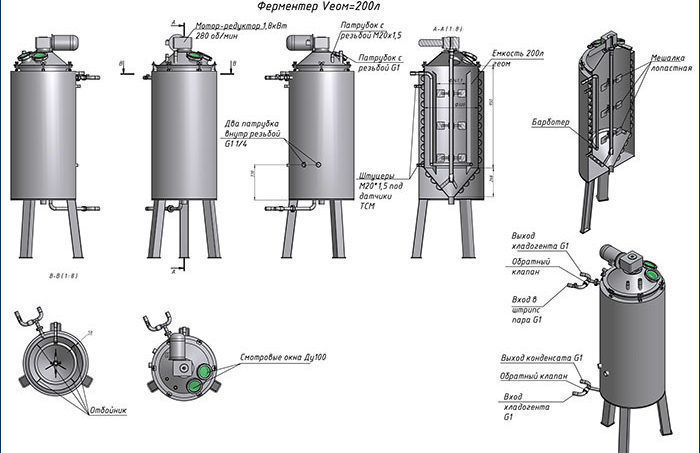 Изображение - Оборудование для кваса Fermentator-oborudovanie-dlya-brozheniya-kvasa-e1475407323829