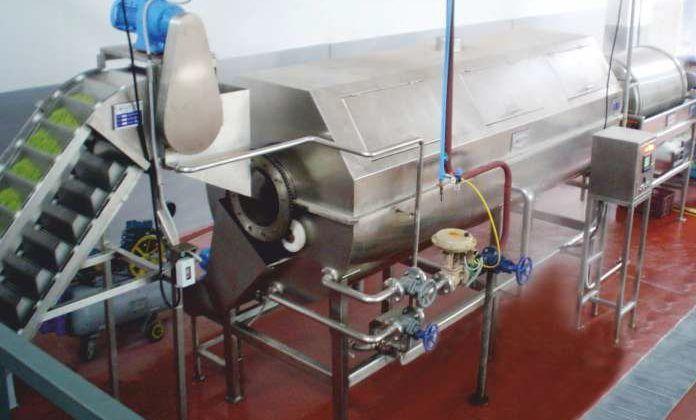 Линия производства консервированного зеленого горошка