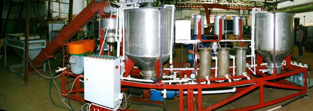 Мини линия по производству гуминовых удобрений