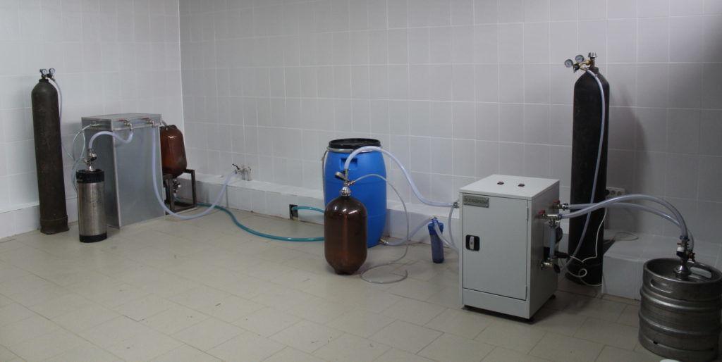 Оборудование для производства кваса