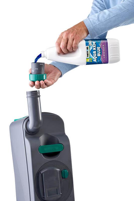 Thetford Aqua Kem Blue для нижнего бачка биотуалета