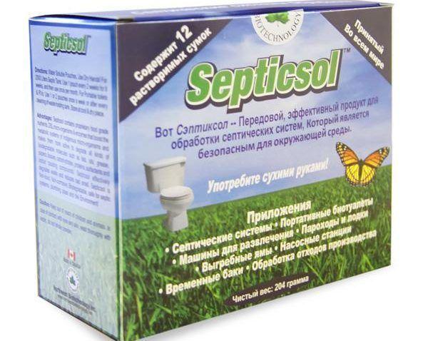 Жидкость Septicsol-R