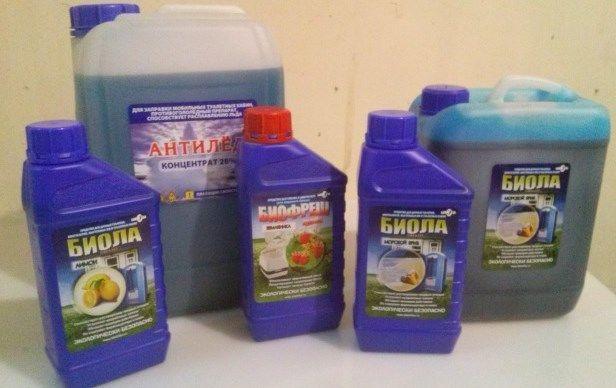 Жидкость для биотуалетов биофреш