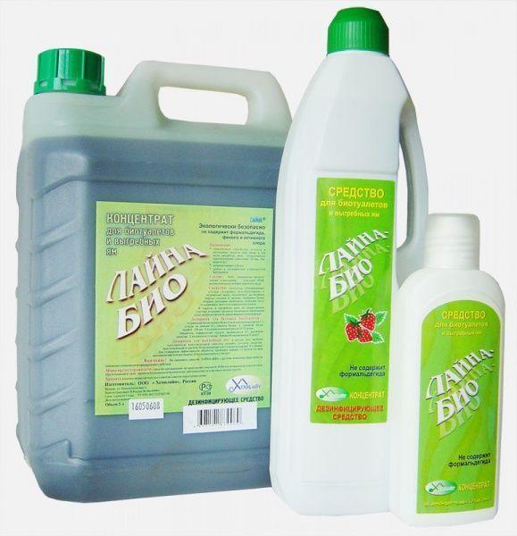 Жидкость для нижнего бачка биотулета Лайна-Био