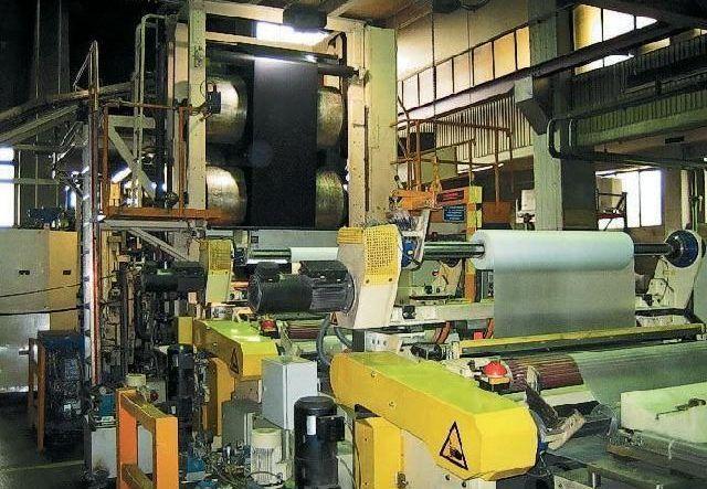 Каландровая линия для производства линолеума