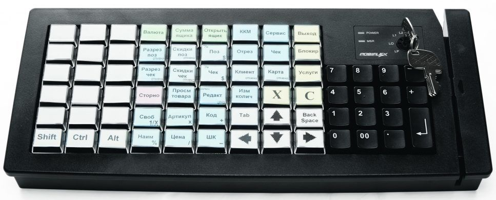 Posiflex MR-2000 с клавиатурой
